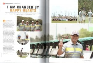iamchange golf tournament on ob golf magazine