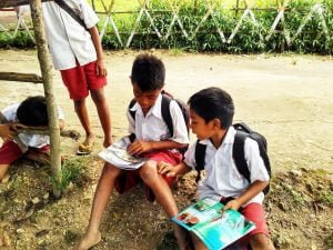 Developing reading culture in Sumba