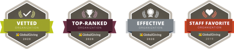 Globalgiving badge